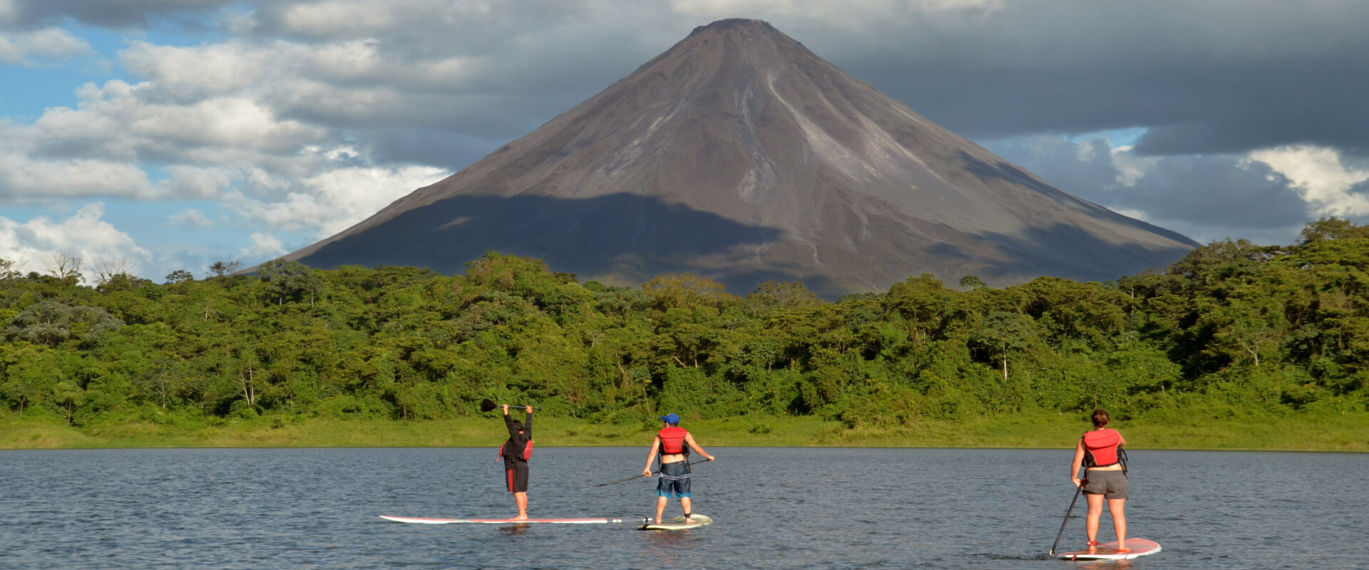Stand Up Paddle on Lake Arenal | Costa Rica Jade Tours