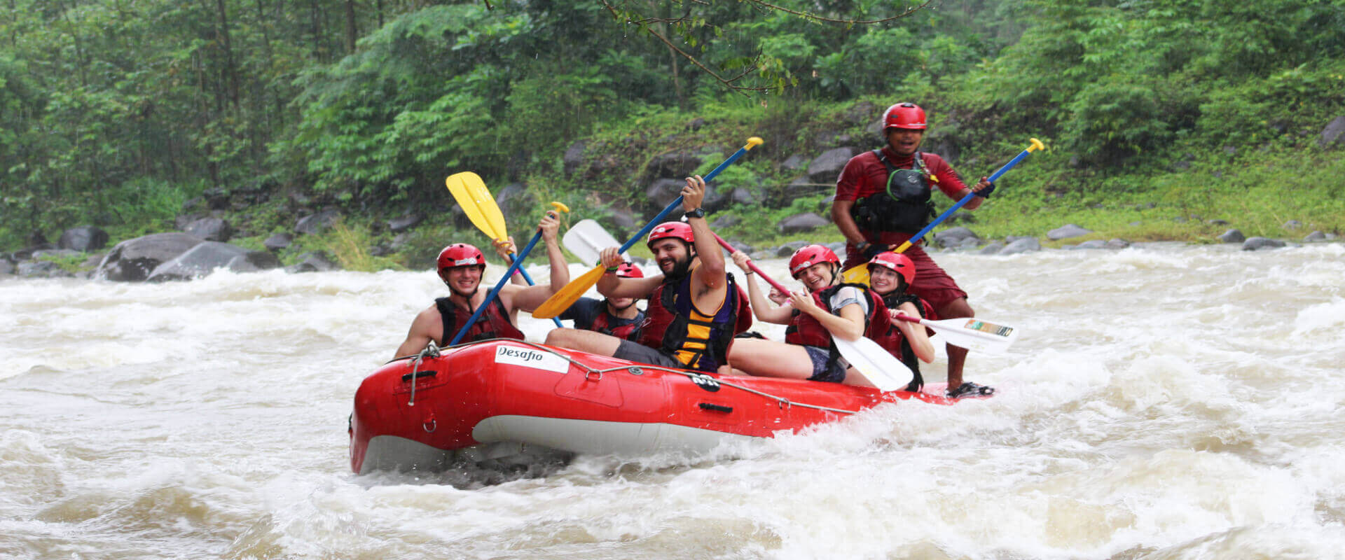 Tenorio River Rafting Class III/IV Tour | Costa Rica Jade Tours