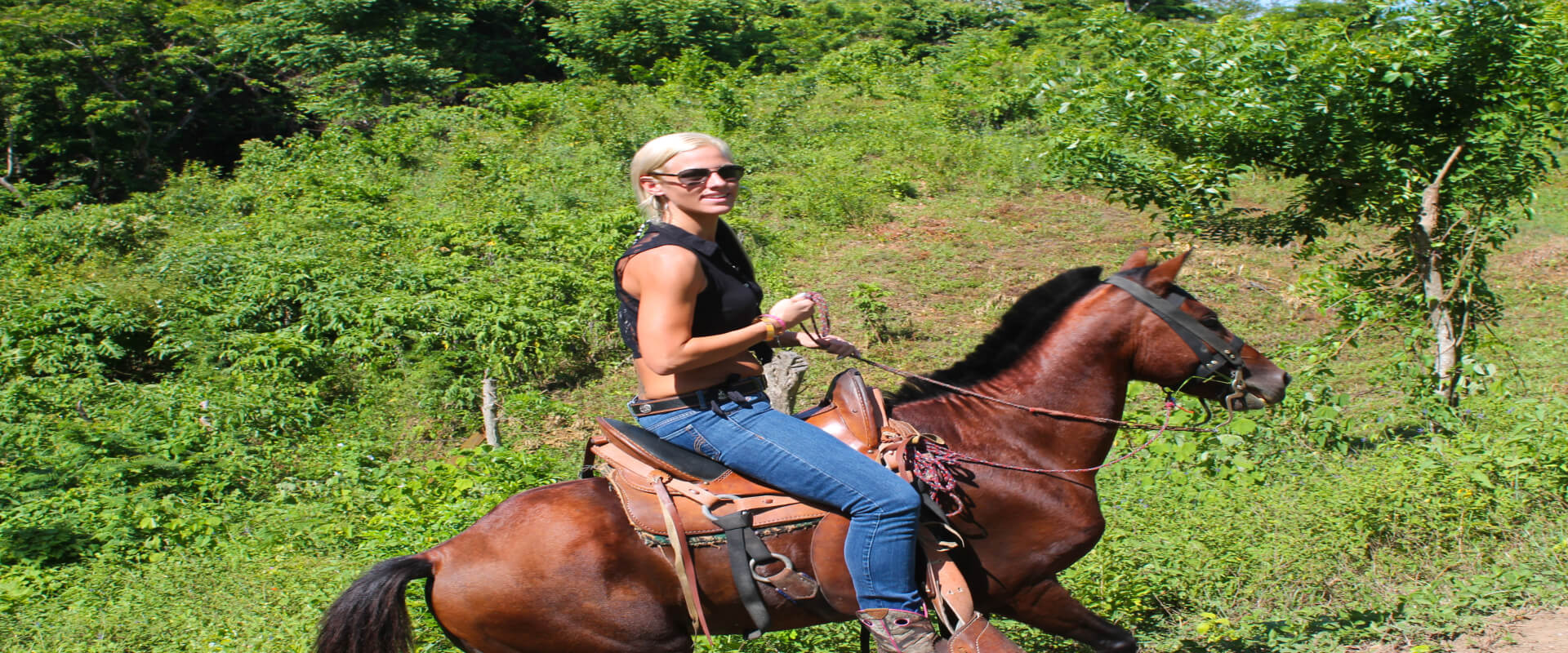 Jungle Spa Adventure Horseback Tour | Costa Rica Jade Tours