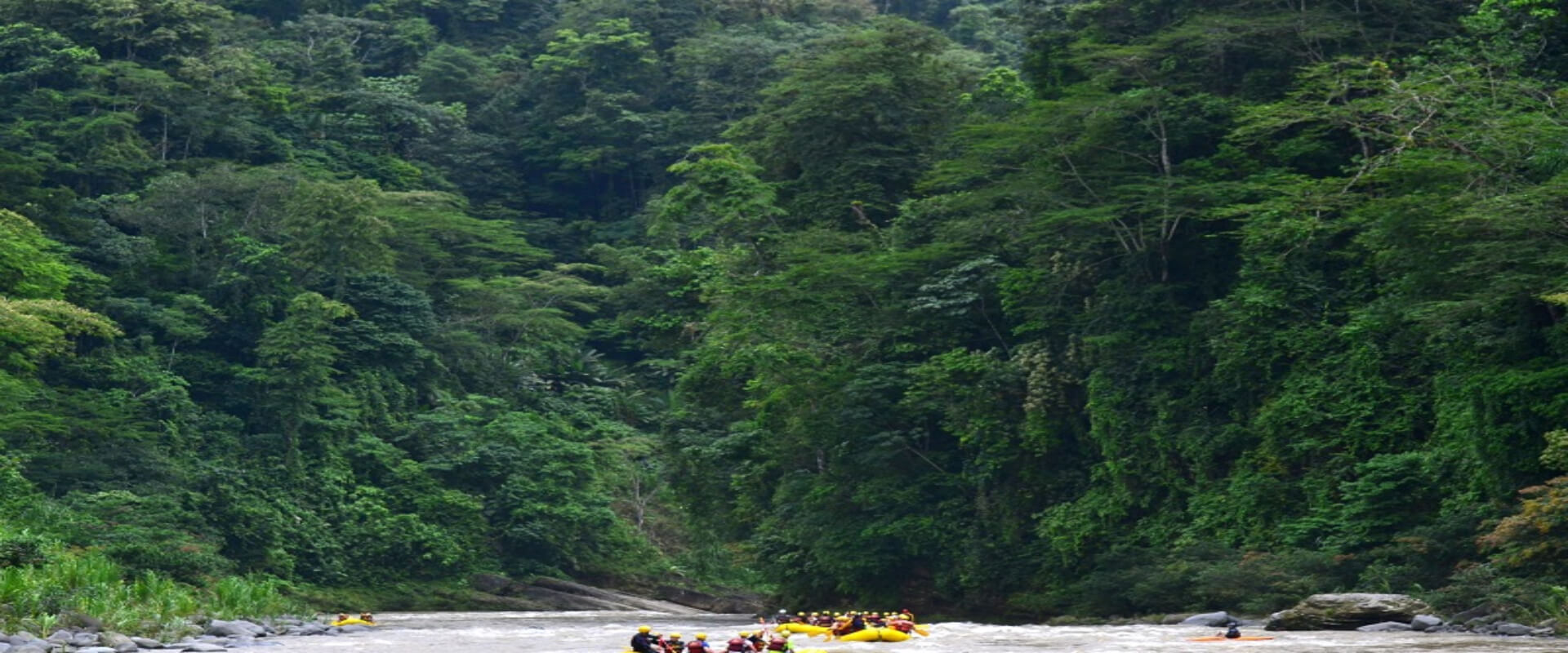 Pacuare River Rafting - 1 day | Costa Rica Jade Tours