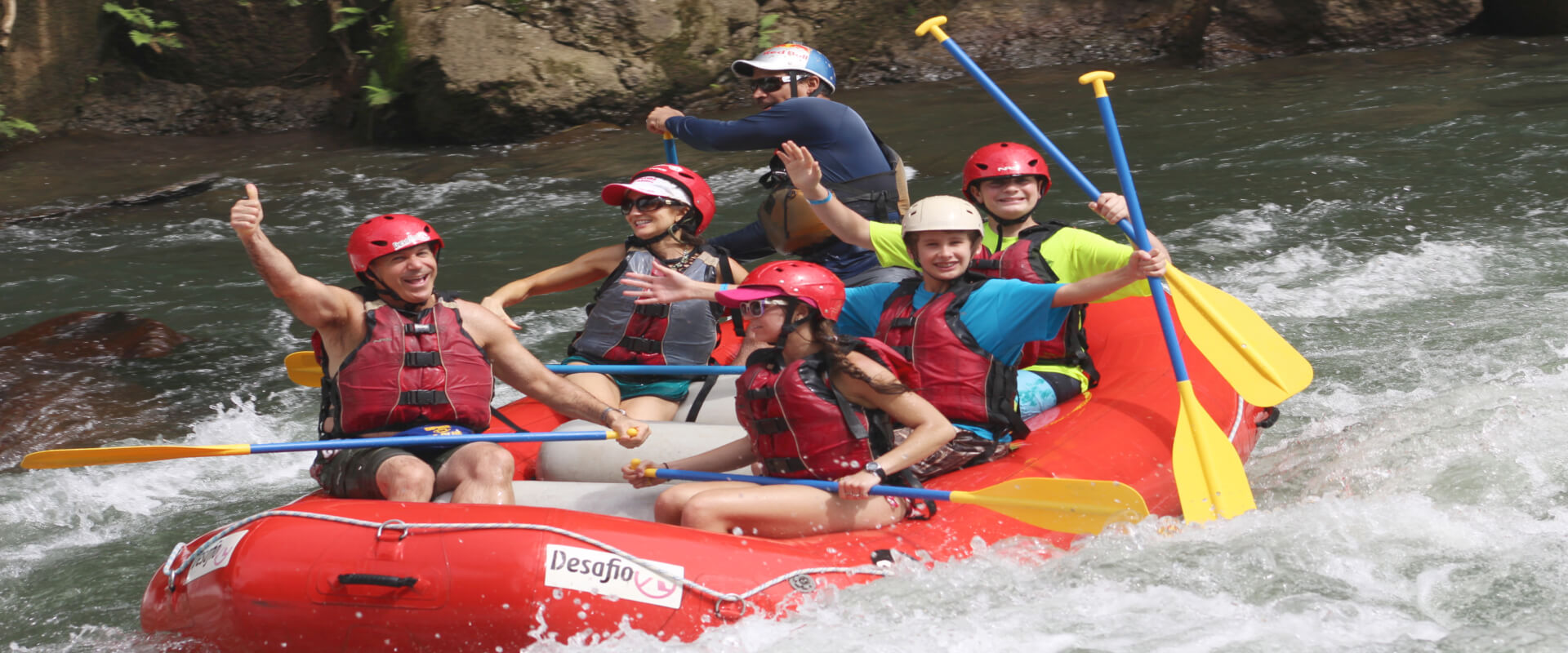 Whitewater Rafting Balsa River Class 2-3 | Costa Rica Jade Tours